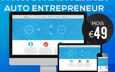 Pack Création site web pour les Auto Entrepreneurs et Micro Entreprises en Martinique, Guadeloupe, Guyane, La Réunion, Mayotte